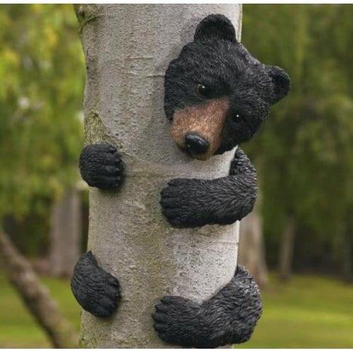 Black Bear Tree Face 7 Gadgets