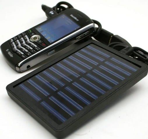 Portable Hybrid Solar Charger