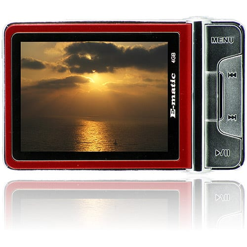 """MP3 Player with 2.4"""" Screen, Camera and Video Recorder,"""