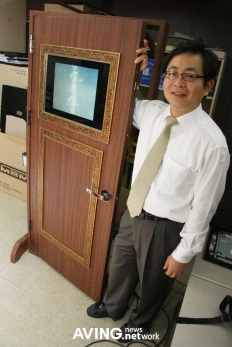 Elivision to develop its door equipped with a 17-inch LCD display