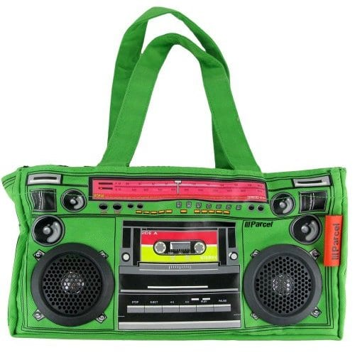 Audio Couture Boombox Bag with Speakers