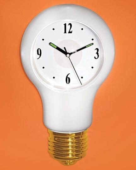 Light Bulb Clock