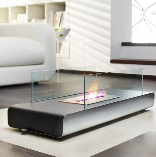 Vidro Floor Fireplace