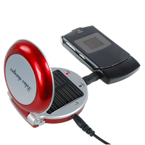 Solar Battery Charger for Cell Phones and MP3/MP4