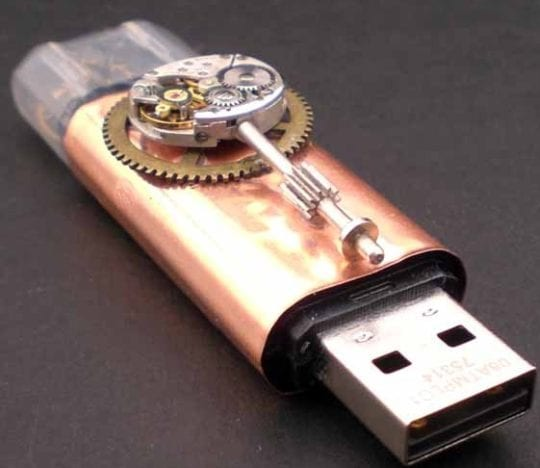 Jump Drive with Copper and encased Gears