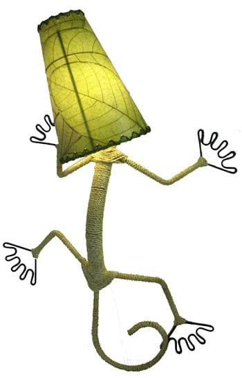 Gecko Wall Lamp
