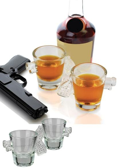 Gun Shot Glass