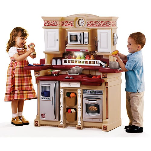 Lifestyle party time kitchen play set Realistic play kitchen