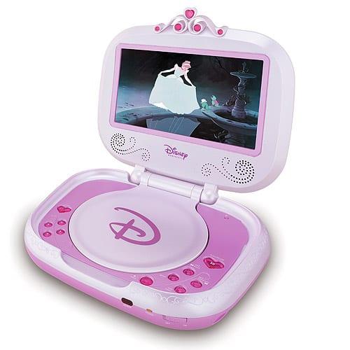 Disney Princess Portable Dvd Player 7 Gadgets