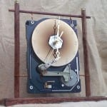 Network hard drive clock