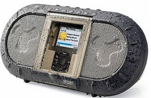 Portable iPod ® Outdoor Speaker