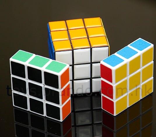 1x3x3 2D IQ Cube