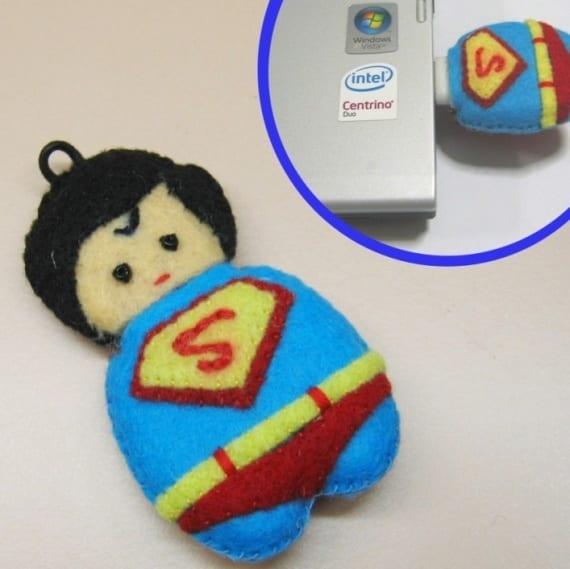 Superman jr. Usb flash drive