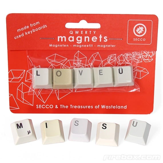QWERTY Magnets