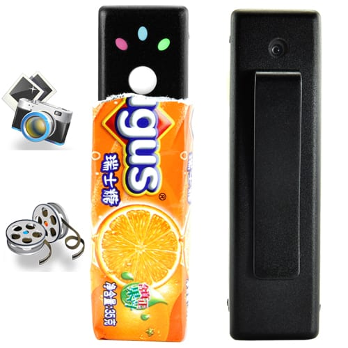 Mini Spy Digital Video Camera with Encryption Feature