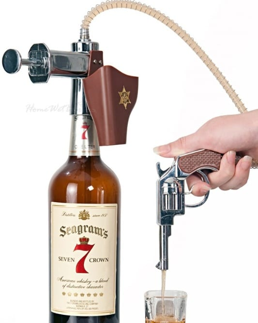 Shoot Em Up Shot Gun Liquor Dispenser