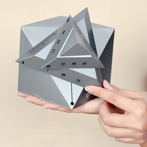 12 Hour AM/PM Time Cube