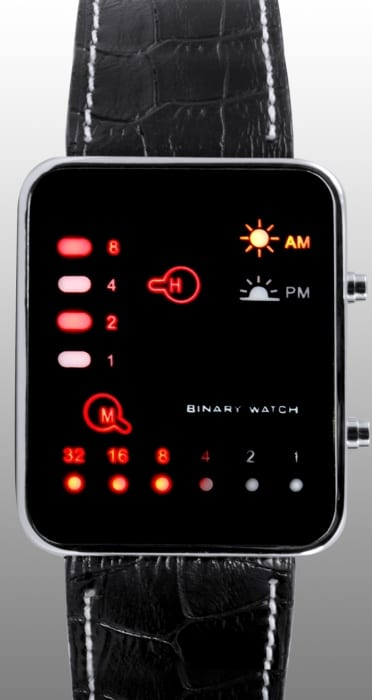 Japanese Multicolor LED Watch