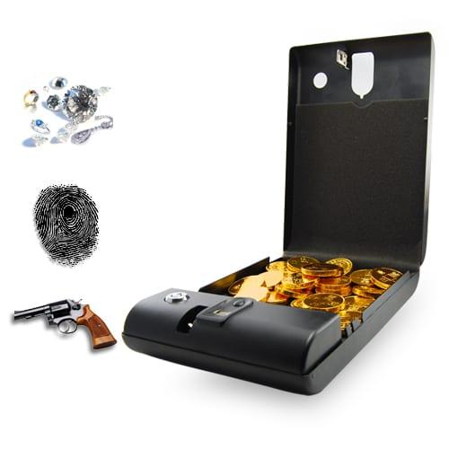 Fingerprint Access Safe - Executive Biometric Security Box