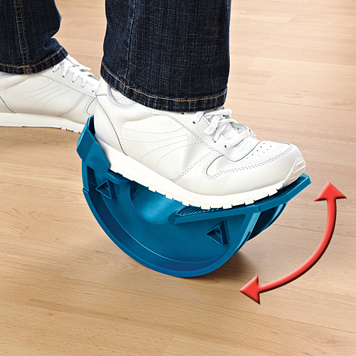 Stretching foot rocker