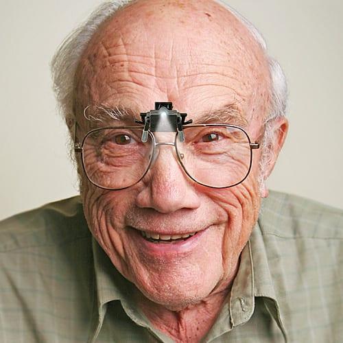 Glasses clip-on light