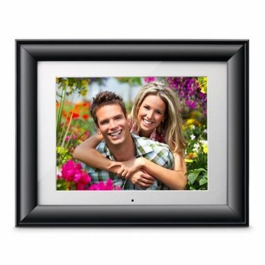 10-Inch Digital Photo Frame with 2GB Internal Memory