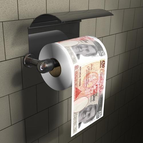£50 Million Toilet Pape