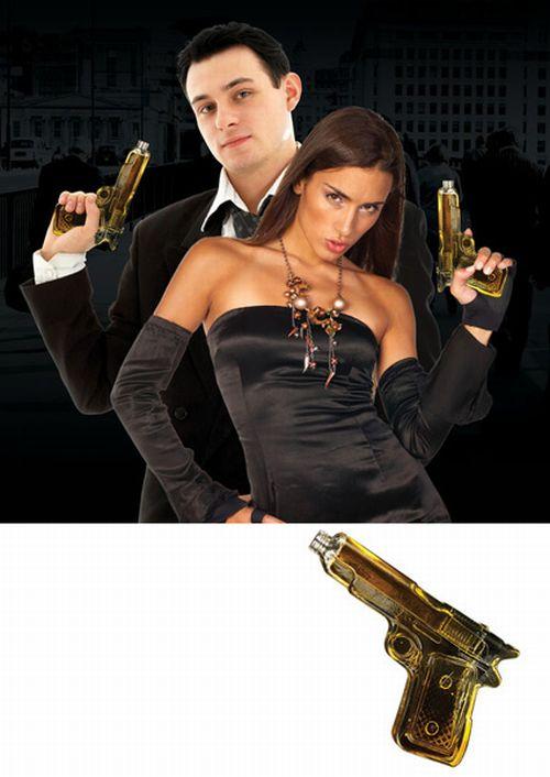 Handgun Glass