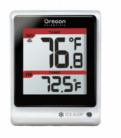thermometer with LED Ice Alert