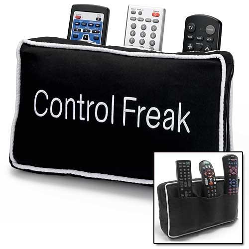 Control Freak pillow