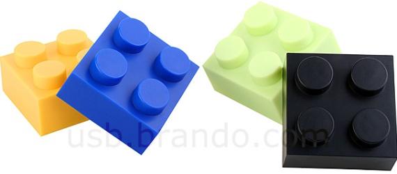 USB Brick 4-Port Hub