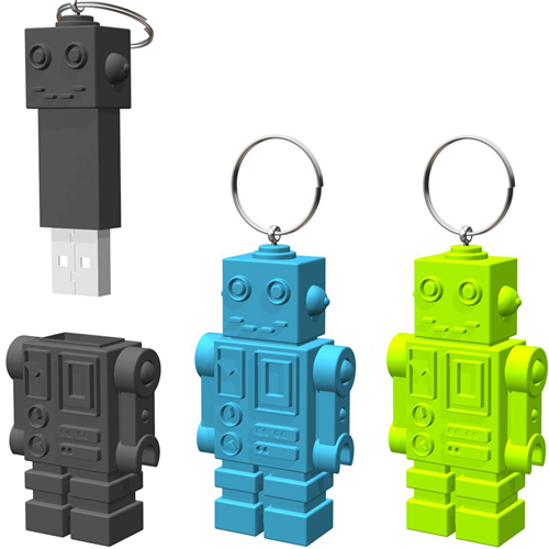 USB Retro Robot
