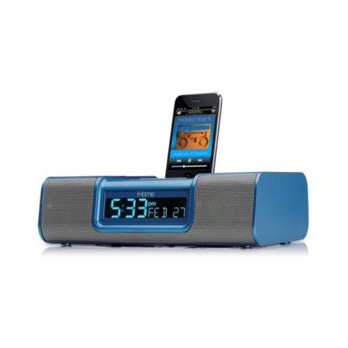 Wake to iPhone/iPod, playlists, AM/FM Radio or Buzzer