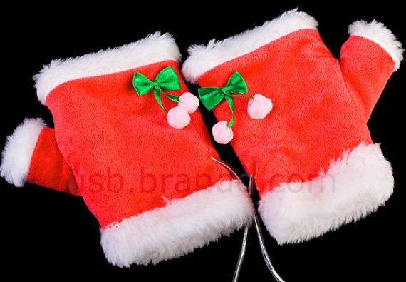 USB X'mas Heating Gloves