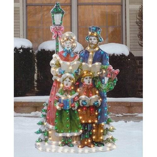 Christmas Carolers Holiday Yard Decorations By Al3001 On: 7 Outdoor Christmas Decorations