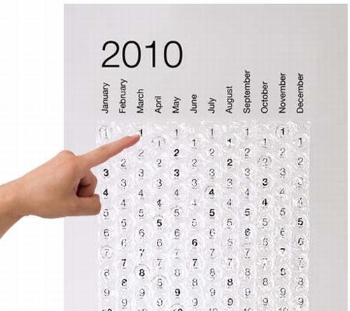 2010 BUBBLE CALENDAR