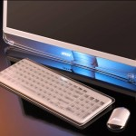 MSI Sliding Screen All-in-One PC with LED Technology Concept Product
