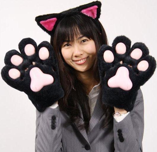 Перчатки кошки своими руками