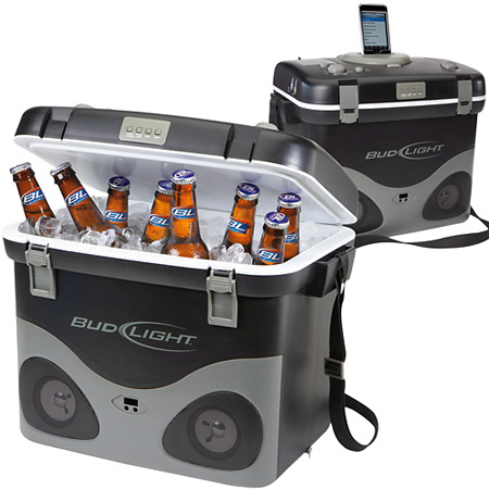 Bud Light Radio Cooler with iPod Dock – 7 Gadgets