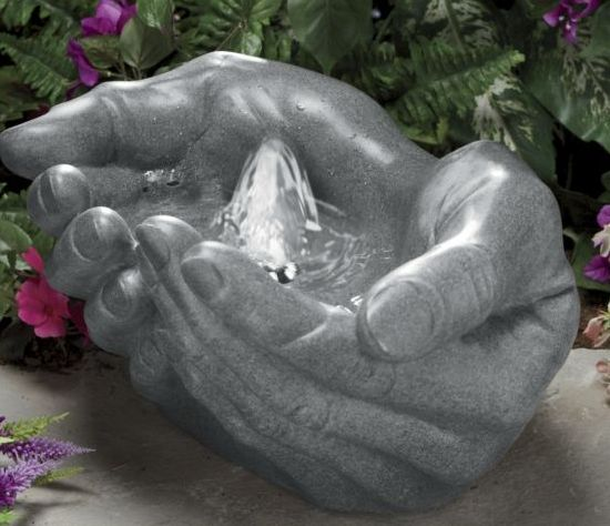 Hands Fountain 7 Gadgets