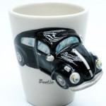 BLACK BEATLE CAR CERAMIC MUG