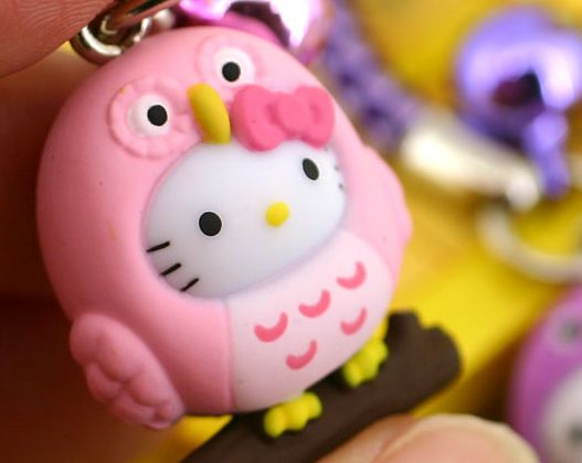Hello Kitty Has Tuned Into The Owl