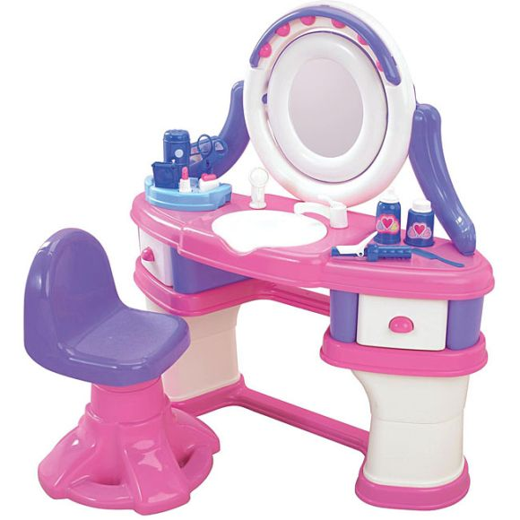Toy Hair Salon : American plastics beauty salon play set