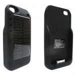 Mooncharge Hybrid Solar Battery Case For iPhone 4