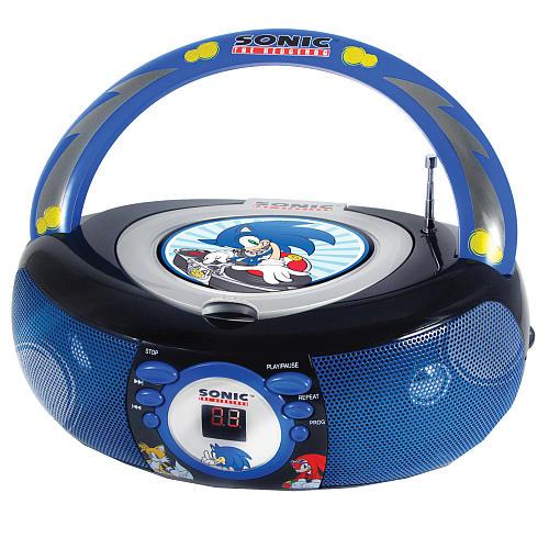 Sonic The Hedgehog Boombox 7 Gadgets