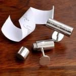 Undercover Custom Engraved Cufflinks