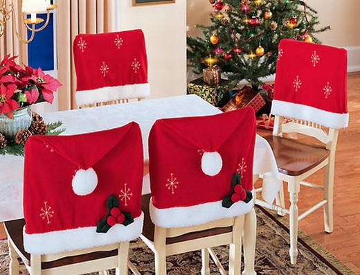 Santa Chair Cover Set