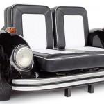 VW Beetle Sofa Black