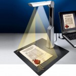 Document Scanner with LEDs
