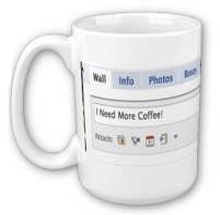facebook mug coffe